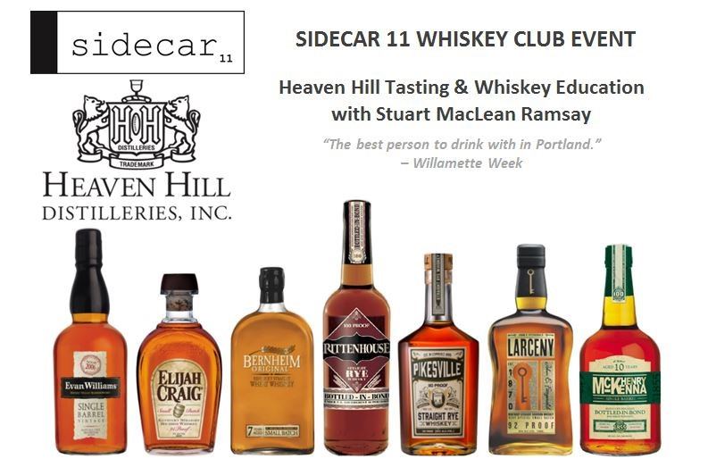 Heaven Hill Tasting & Whiskey Education with Stuart MacLean Ramsay