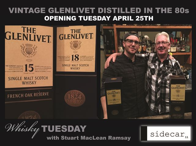 Vintage Glenlivet Opening This Tuesday 4/25