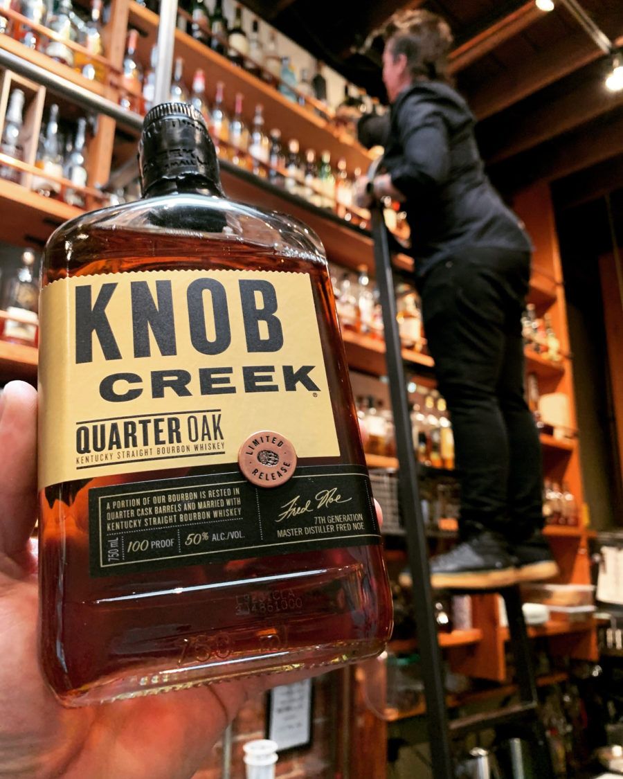 Knob Creek Quarter Oak is no joke!